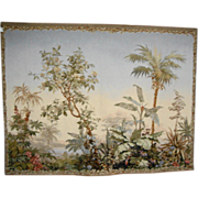 Large French Landscape Tapestry