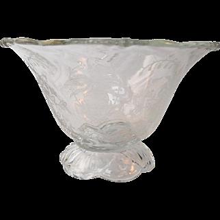 Art Nouveau Glass Vase, 1890