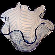 Murano Formia Handkerchief Vase