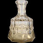 Cut Glass Decanter, c1850