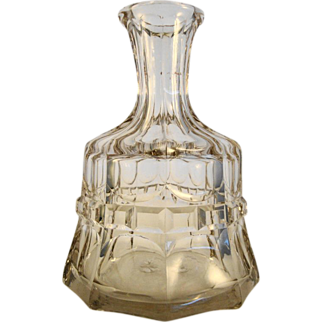Cut Glass Decanter, c1850