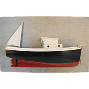 Fishing Boat Half Hull Model