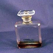 Miniature Chanel Bottle