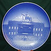 Copenhagen Porcelain  5 year Jubilee Plate 1895 - 1970