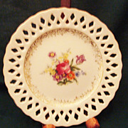 "Plate ""Dresdenia"" Porcelain Made in Occupied Japan"