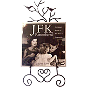 """Signed """"JFK Remembered"""" by White House Photographer Jacques Lowe 1993"""