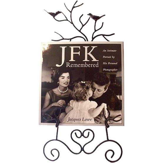 "Signed ""JFK Remembered"" by White House Photographer Jacques Lowe 1993"