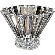 Rosenthal Lead Crystal Ribbed Bowl