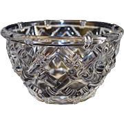 Tiffany& Co Decorative Lead Crystal Bowl Germany