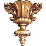 PAIR Decorative Architectural Cast Wall Sconce / Corbel