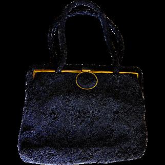 FRANCE Saks Fifth Avenue Beaded Evening Bag
