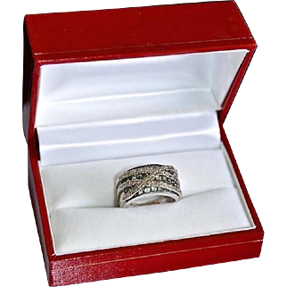 Fancy 14K Gold 1.91 Carat Tsavorite Garnet Gemstone Ring
