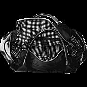 Designer Patent Leather Travel Tote Handbag K SPADE