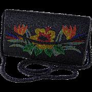 Fancy Maui Floral Beaded Evening Handbag
