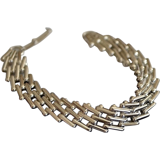 Mexico High Polished Sterling Rolo Link Bracelet