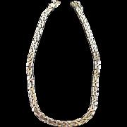Gorgeous Byzantine Heavy Linke Chain Necklace Mexico