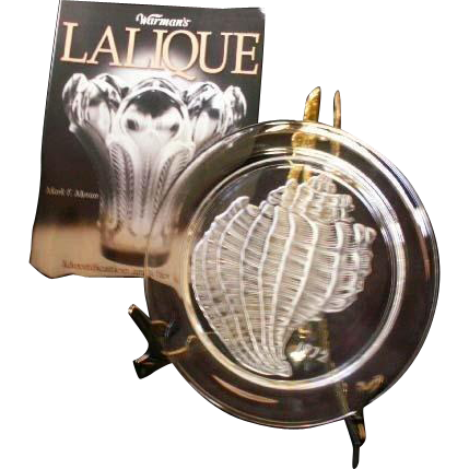 Rare Complete Series of Etched Lalique Plate Collection 1965-1976