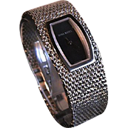 Nina Ricci Stainless Steel Mesh Bracelet Watch Paris, France