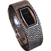 Designer Nina Ricci Couture Stainless Steel Watch