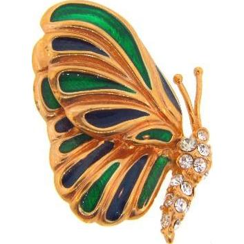 Krementz butterfly Brooch
