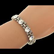 Vintage 1950's crystal rhinestone Bracelet