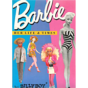 Doll Reference Book! Barbie Her Life & Times !