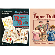 Doll Reference Books! 2 Paper Doll Book Guides!