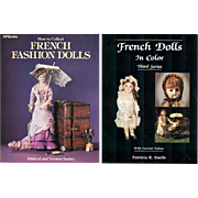 2 Doll Reference Books!  French Fashion Dolls; French Dolls in Color - Seeley, Smith