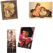 3 Fantastic Doll Reference Books! Theriault's Catalogs! Bisque Cloth China Etc Dolls!
