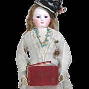 Darling Vintage Doll Sized Mini Red PARIS Photo Album!