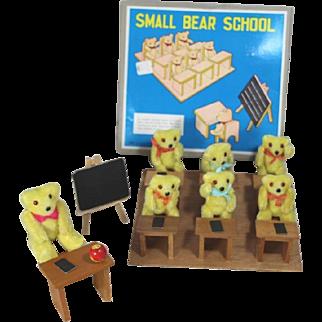 Vintage Teddy Bear School MIB - Darling Doll Size!