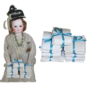 Darling Antique Linen Packs for your Doll's Armoire!