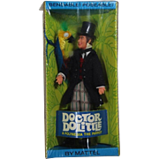 Vintage 1967 Mattel Doctor Dolittle Doll w Parrot MIB! Mint!