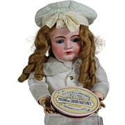 Beautiful Antique French Perfume Powder Box for Large Doll!