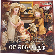Doll Reference Book: Theriault's The Memory of All That - Mary Krombholz Collection and others