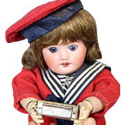 Darling Vintage Mini Doll Sized LITTLE LADY Germany Harmonica!