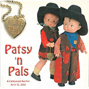 Doll Reference Book!  Theriault's Effanbee Patsy N Pals w Prices Realized!
