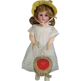 Antique Iroquois Beaded Doll Box Purse
