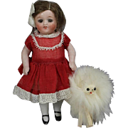 Darling Vintage Doll Size Fur Dog Companion!