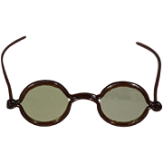 Antique Celluloid Doll Glasses Spectacles!