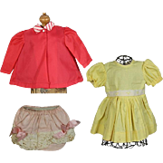 3 Vintage Tagged TERRI LEE Doll Clothes!
