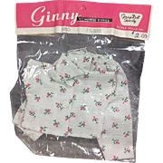 HTF! 1950s Vogue Ginny Doll Pajamas - MINT in Orig Package!