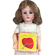 "Antique Mini Doll Sized French Darling Game ""Delivrez Mon Coeur"""