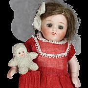 Antique Mini German Snow Baby Tumbler Doll Figure!