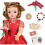 Vintage Mini Doll Sized Accessories - Contents of My Cissy's Purse!