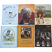 Doll Reference Books! 6 Theriault's Doll Catalogues!  Nice!