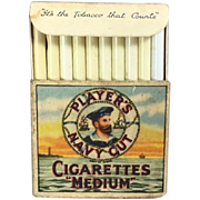 Vintage Mini Doll Pack of Kiddicraft Cigarettes for your Sailor Soldier Doll! Made in England