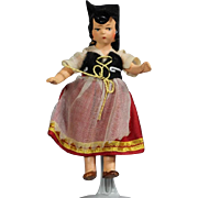 Darling Hertwig All Bisque German Doll Italian Girl!