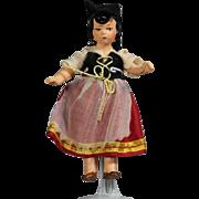 Darling Hertwig All Bisque German Doll Italian Girl!