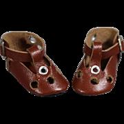 Vintage Janice Naibert BLEUETTE Doll Shoes!